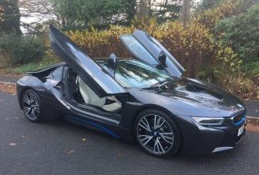BMW i8 HEADS UP 1 YEAR BMW WARRANTY