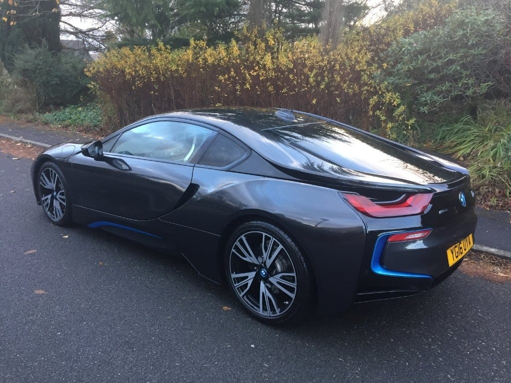 BMW i8 HEADS UP 1 YEAR BMW WARRANTY