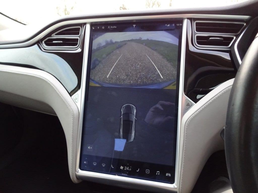 Tesla Model S E 85  7 SEATS