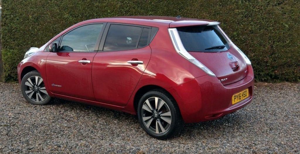 Nissan Leaf Auto Tekna