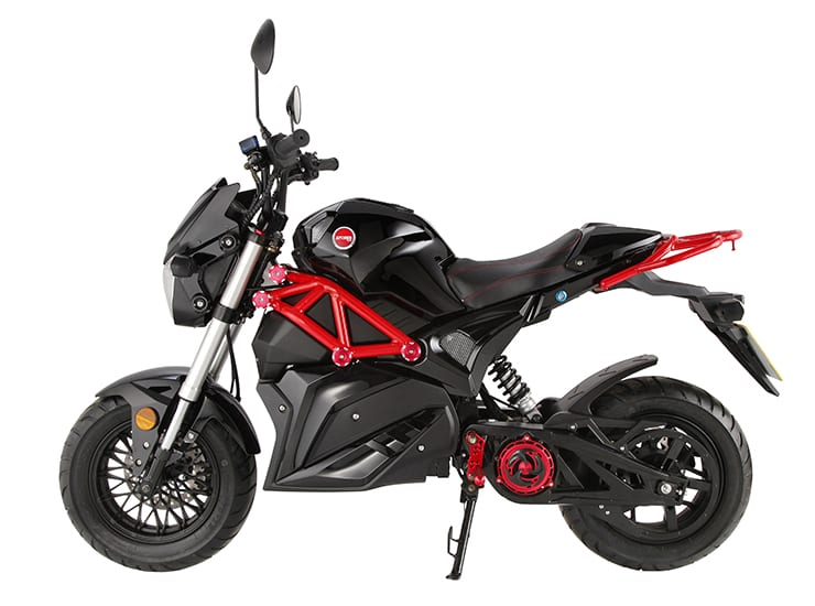 2019 ARTISAN EVO3 ELECTRIC BIKE – 125cc EQUIVALENT – LIKE AN ELECTRIC MSX GROM !