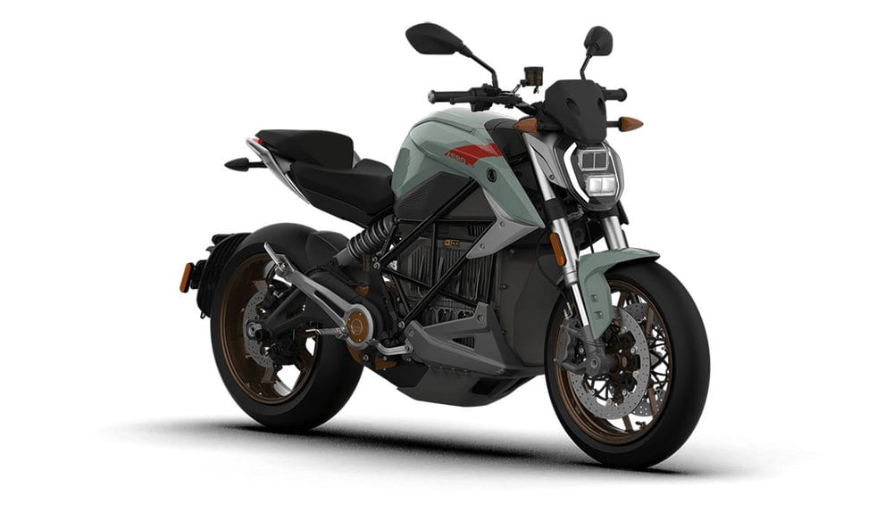 ZERO SR/F ALL NEW ELECTRIC MOTORCYCLE