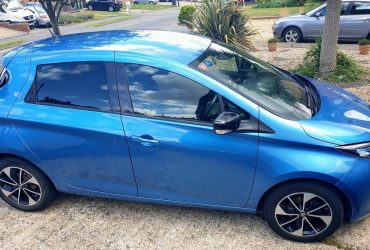 For sale: 2017 Renault Zoe Dynamique Nav R90 Z.E.40, 37651 miles (battery lease) – £11350 o.b.o.