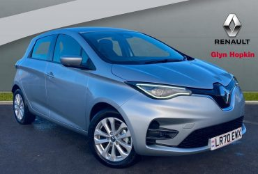 Renault ZOE 100kW i Iconic R135 50KWh Rapid Charge 5dr Auto