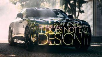 Rolls-Royce Electric teaser